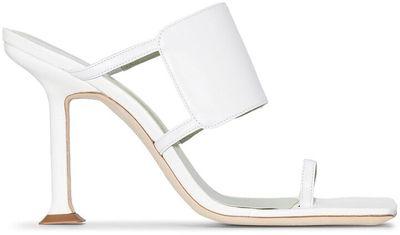 Gigi 100mm cut-out sandals