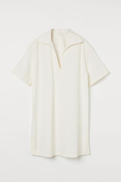 Cotton twill dress