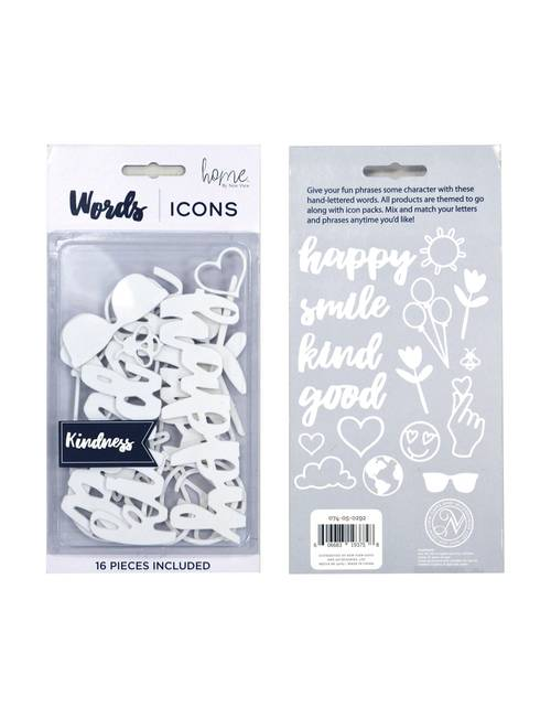New View 16-pc  Kindness Icon Letterboard Pack | Stage Stores