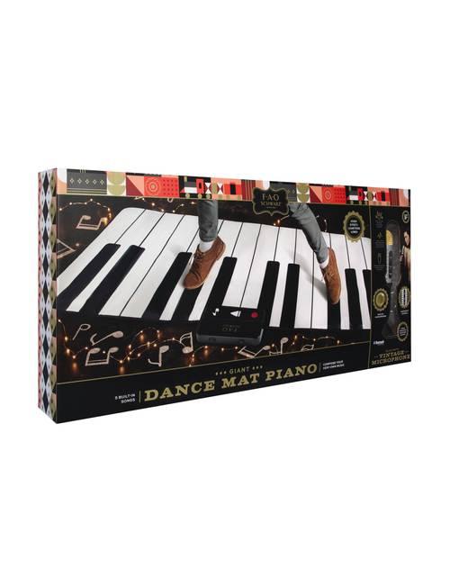FAO Schwarz 2-pc  Dance Mat Piano & Bluetooth Microphone