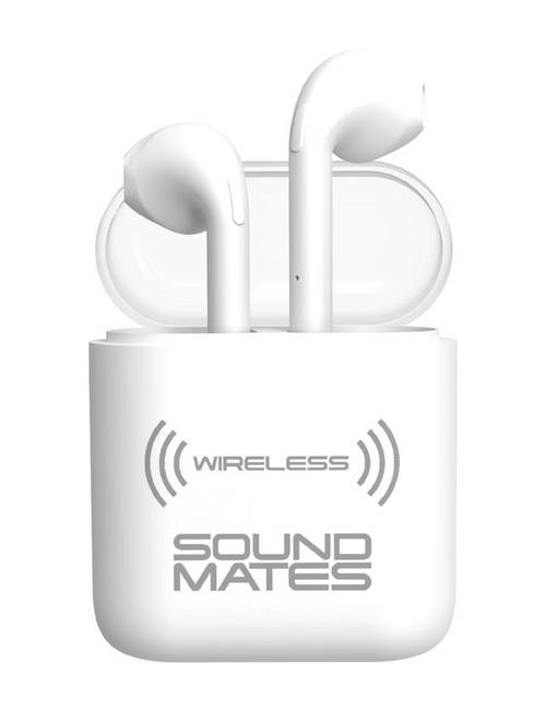 Tzumi Sound Mates Matte Wireless Earbuds & Charging Case