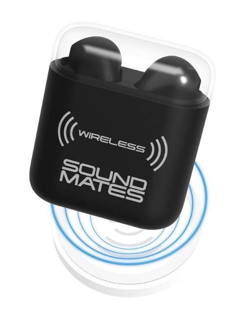 Tzumi Sound Mates Matte Wireless Earbuds & Charging Case