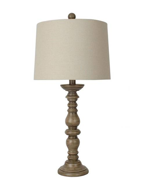 Jimco Lamp Manufacturing 25 Natural Candlestick