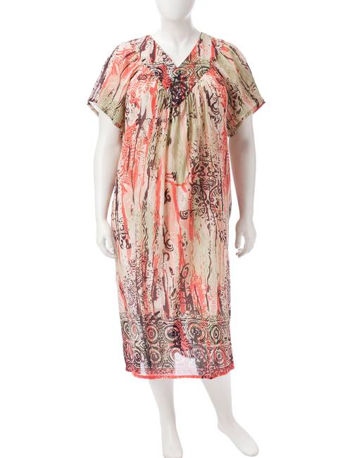 Loungees Plus-size Gauze House Dress | Stage Stores