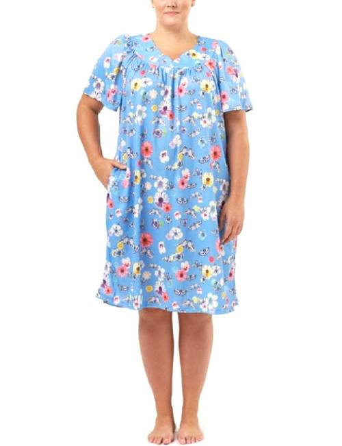 Granada Plus-size Floral House Dress | Stage Stores