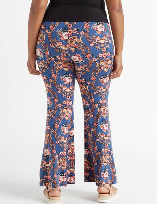 Eye Candy Juniors\' Plus Size Flare & Scroll Flare Pants ...