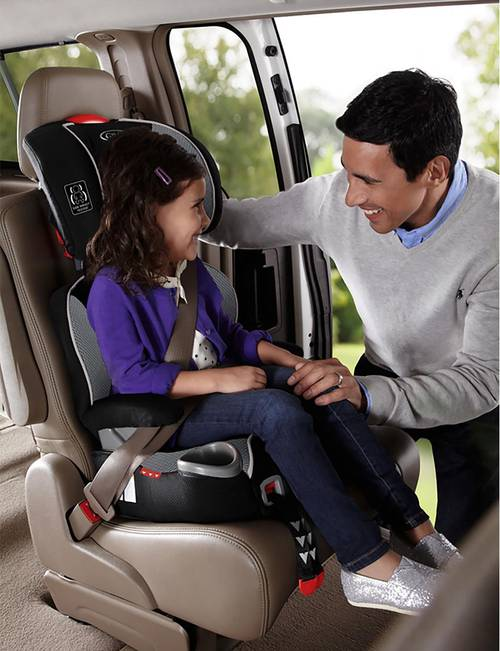 Matrix Graco TurboBooster LX High Back Car Seat