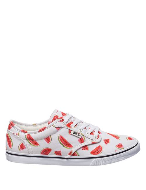 hot sale 50% off size 40 Vans W Atwood Watermelon Lace-up Shoes | Stage Stores