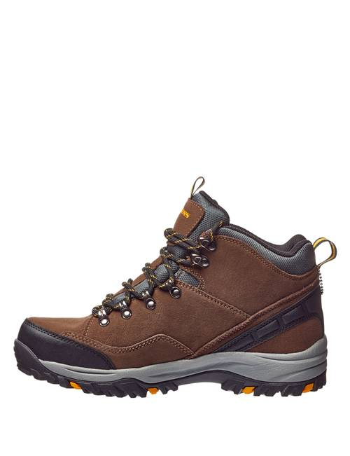7fb936b89f1 Skechers Men's Relaxed Fit Suede Relment Pelmo Hiking Boots | Stage ...