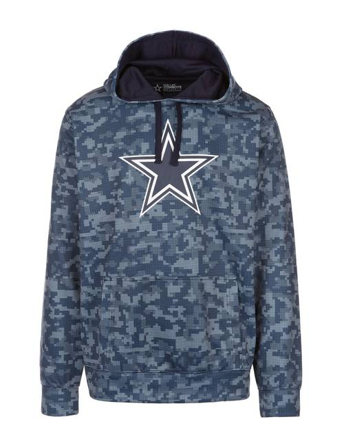 hot sale online f4975 31411 Dallas Cowboys Men's Solomon Camo Hoodie | Stage Stores