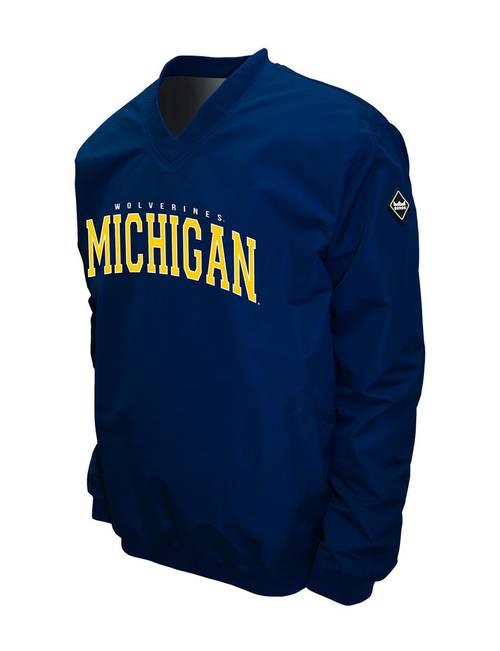 best cheap fe70a 9a002 University of Michigan Wolverines Big & Tall Windbreaker ...