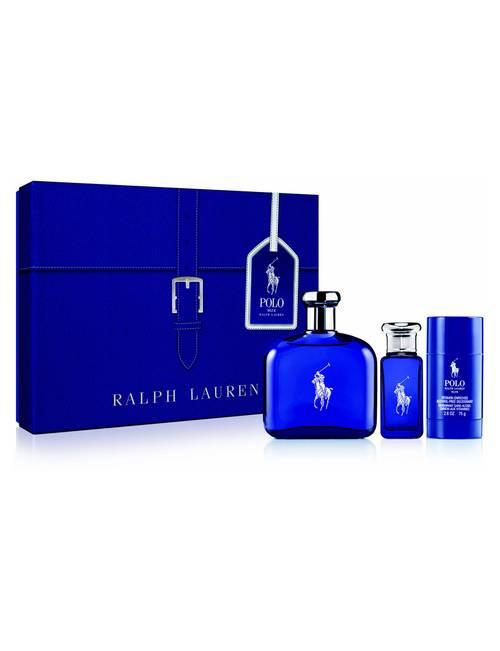 Ralph Value Lauren 3 Travel PcPolo For Set Mena147 Blue 4jRLA5