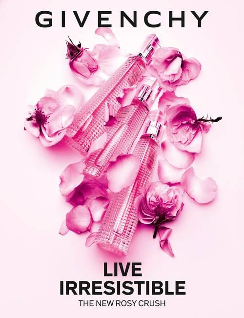 Rosy Spray Eau Parfum Givenchy De Live Irresistible Florale Crush yf76gb