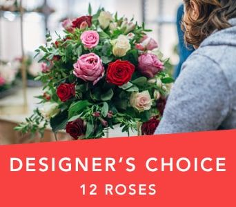 Designer's Choice Dozen Roses for flower delivery australia wide