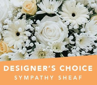 Designer's Choice Sympathy Sheaf for flower delivery australia wide
