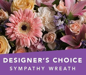 Designer's Choice Sympathy Wreath for flower delivery new zealand wide