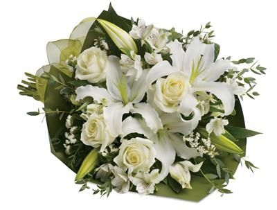 Simply White for flower delivery australia wide