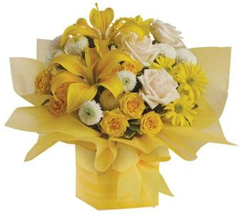Sweet Sunshine for flower delivery united kingdom wide