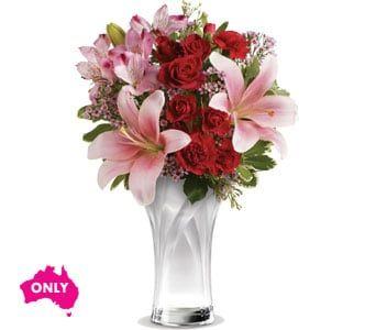 Celebrate Amore for flower delivery Australia wide