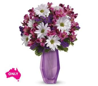 Blushing Beauty for flower delivery australia wide