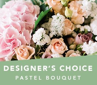 Designer's Choice Pastel Bouquet for flower delivery australia wide
