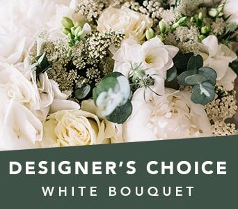Designer's Choice White Bouquet for flower delivery australia wide