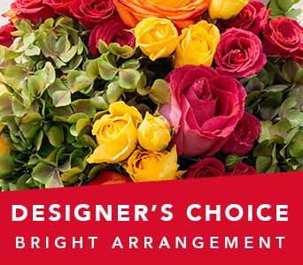 Designer's Choice Bright Arrangement for flower delivery australia wide