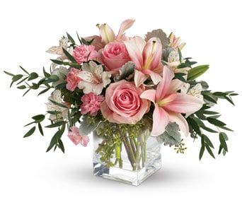 Pink Flora for flower delivery new zealand wide