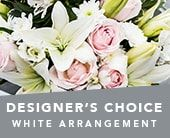 Designer's Choice White Arrangement