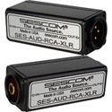 Sescom AUD-RCA-XLR 1-Channel RCA to XLR Unbalanced to Balanced Audio Converter
