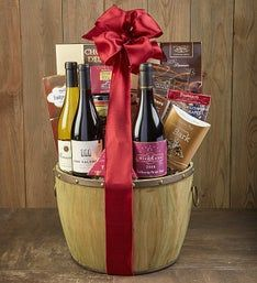 Heritage Cellars Wine Trio Gift Basket