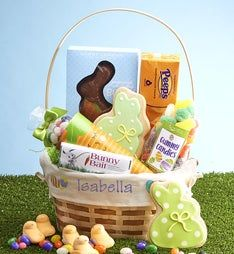 Eggceptional Personalized Easter Basket