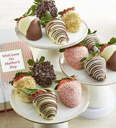 Mother's Day Deluxe Chocolate Strawberries