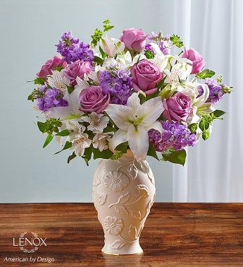Loving Blooms™ Lenox® Lavender & White