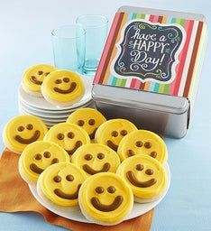 Happy Day Buttercream Frosted Gift Tin