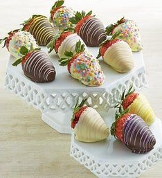 Decadent Spring Chocolate Strawberries