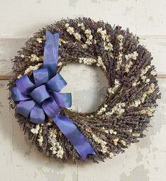 Preserved Lavender Wreath – 16""
