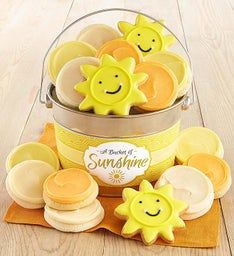 Bucket O' Sunshine Cookie Pail