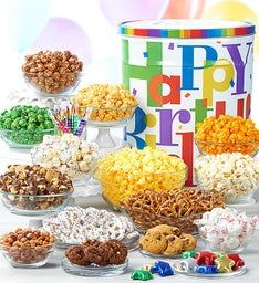Big Happy Birthday Deluxe Snack Assortment