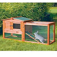 Trixie Natura Animal Hutch with Outdoor Run