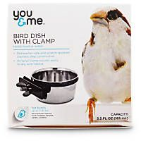 You & Me Stainless Steel Coop Cup with Clamp
