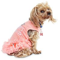Bond & Co. Mommy's Princess Ruffle Dog Dress