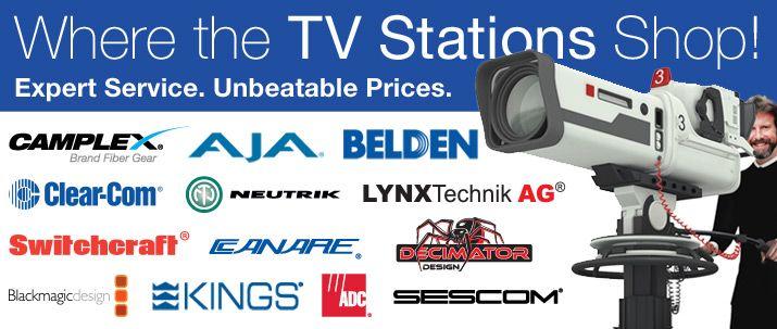 Professional Video, Broadcasting & Audio Equipment | Markertek