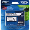 Brother TZe231M 0.47in x 26.2 ft (12mm x 8m) Black on White