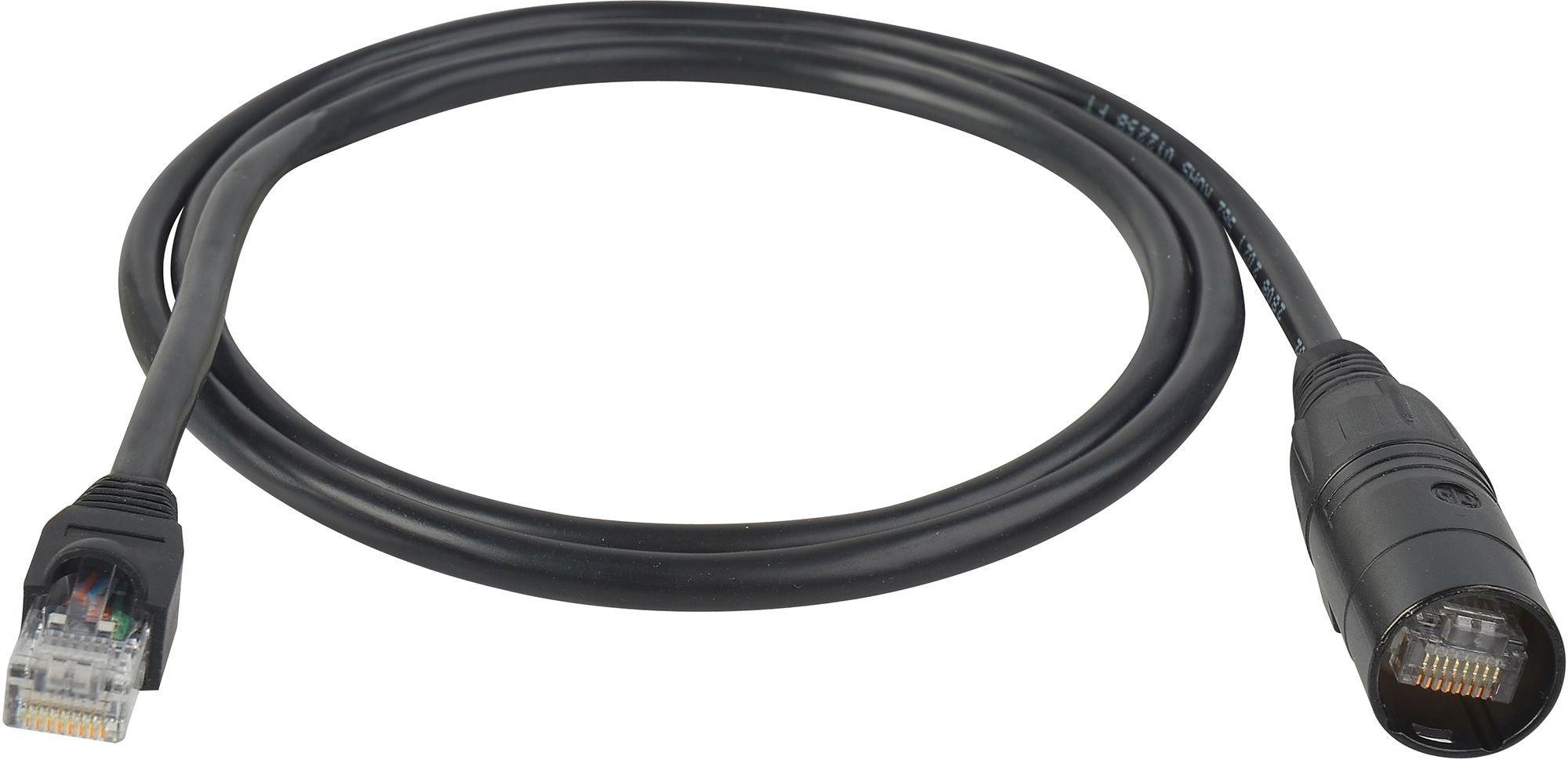 CAT 5e Cable 60 or 100 Feet with RJ45 Connectors on Both Ends