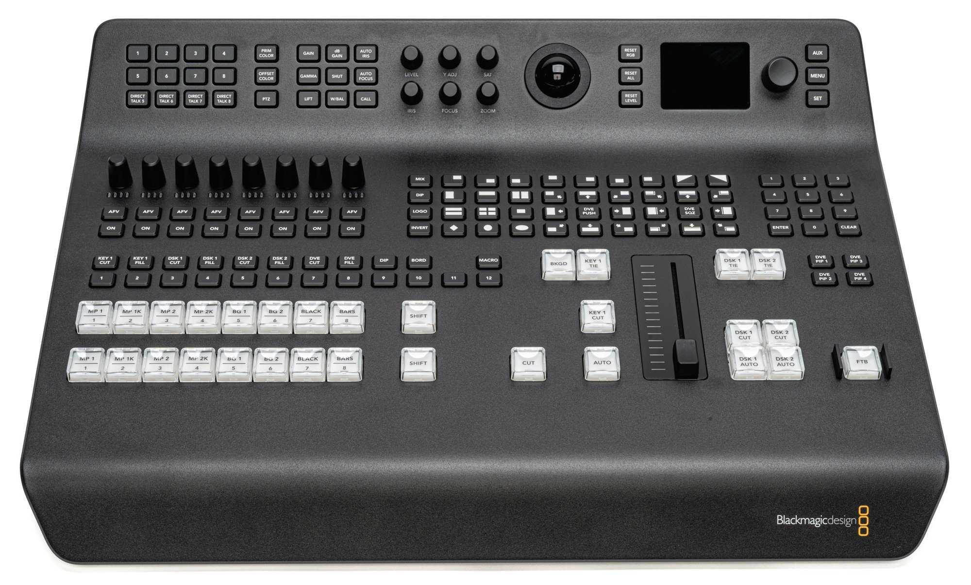 Blackmagic Design Atem Television Studio Pro 4k Bstock Damaged Box Missing Sd Card With Software And Manual