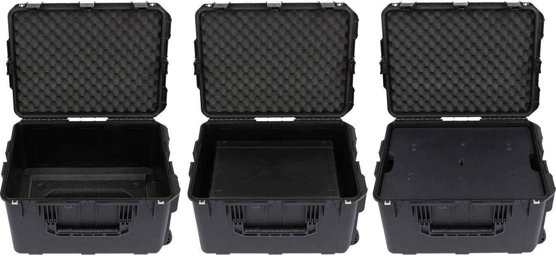 SKB 3i-231714GFX iSeries FlyRack Case for Line 6 HELIX Rack or Kemper Rack  and Floor Controller