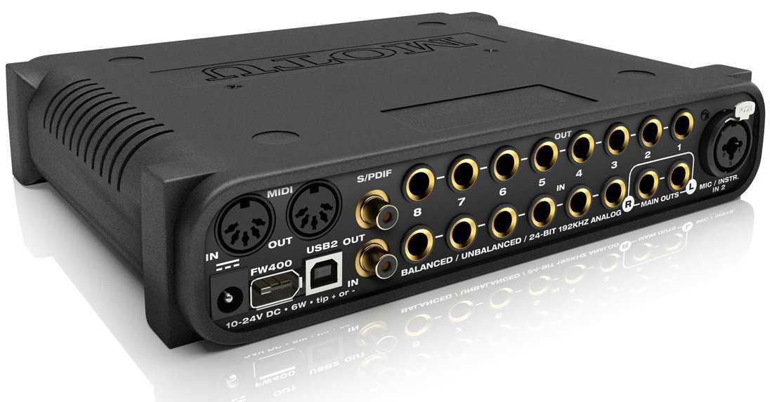 Motu UltraLite-mk3 Hybrid FireWire / USB2 Audio Interface with On ...