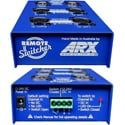 ARX RS-1 Remote Switcher - Stereo XLR Balanced Remote Controlled Switcher