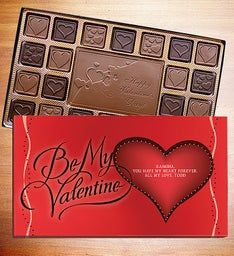 Happy Valentines Day Personalized Chocolate Box